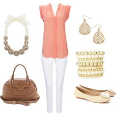 Summer outfit--> There are some cute chicks who can pull off these colors. I like the classy look.