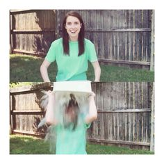 NEW VIDEO is now up on youtube.com/laina - watch OAG do the #alsicebucketchallenge