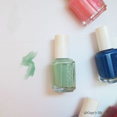 Gege's life: 5 Best nail polish for summer  #Turquoise_and_caicos #essie