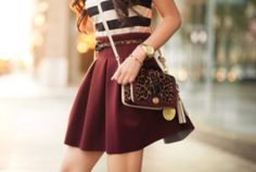 falls flippy flared mini skirts: scuba, skater, ruffled skirts