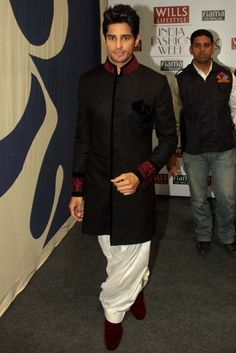 Designers, models, socialites, Bollywood descended on Delhi this week for the Autumn/Winter 13 shows Fashion Ideas, Men's Fashion, Sherwani, Indian Attire, Wedding Men, Formal Wear, Mens Suits, Men's Style, Beautiful Men