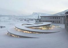 The Swiss watchmaker Audemars Piguet has commissioned the BIG architectural practice to expand their headquarters at the historic workshop complex in Vallee de Joux, western Switzerland