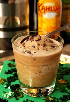 Slush au café alcoolisé & autres slushs alcoolisées