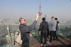Paul Pierce Selfie in Shanghai