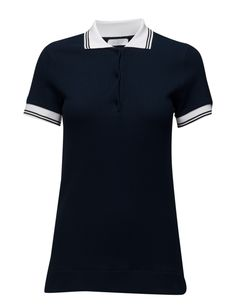 DAY - Polaris DAY - Polaris Waffle textured weave Polo collar and button placket Ribbed collar and cuffs Excellent quality and fit Functional Modern Practical Polo Golfer Golf Shirt Collar And Cuff, Golf Shirts, Waffle, Weave, Cuffs, Polo Ralph Lauren, Blazer, Button, Chic