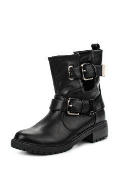 Полусапоги Kylie, цвет  черный. Артикул  KY002AWLQK67. Женская обувь    Сапоги 2da90e02723