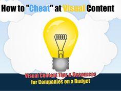 Visual content marketing cheat sheet
