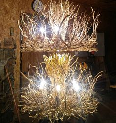 Finally finished my double order of Empresses. They look different when you shoot them 1 straight on and the 2nd at a downward angle. I'm worn out and my arms feel broke. Time for the hired help to work like the boss! #honeysuckle #vine #Lighting #handcrafted #modern #rustic #chandeliers #home #decor #interiordesign #homedecor #etsyspecialt #interiors #integrityTT