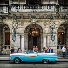 #Havana: The #architecture is absolutely beautiful along #PaseoMarti and Paseo…