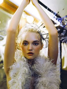 Gemma Ward by Patrick Demarchelier Vogue Índia