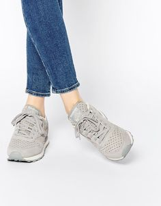 Image 1 ofReebok Classic Leather Star Grey Trainers