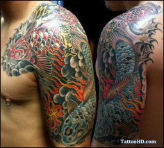 japanese themed tattoo sleeve - Google Search