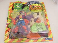Toxic-Crusaders-Bonehead-action-figure-Glow-Dark-1991-Playmates - $30