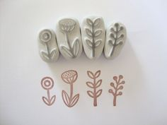 sellos hechos a mano, hand carved stamp