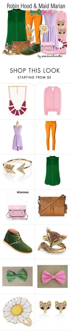 """""""Robin Hood & Maid Marian"""" by princesschandler ❤ liked on Polyvore featuring Forever 21, Jil Sander, One Green Elephant, EF Collection, Michael Kors, Lipsy, Mantaray, Brakeburn, Palm Beach Jewelry and Dorothy Perkins"""