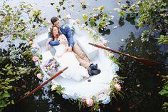 Little Mermaid and Monet inspired wedding shoot, Shrewsbury, New Jersey » New Jersey Wedding Photographer – Kay English Photography