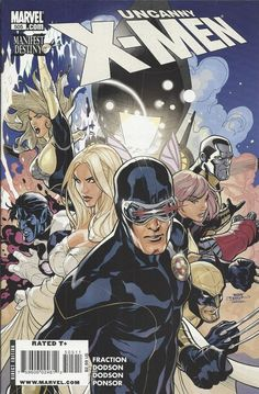 Marvel Uncanny X-Men comic issue 505
