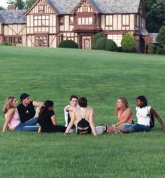 hanging out on the Great Lawn