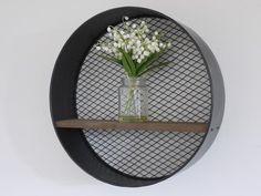 Round Industrial Shelf