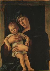 Greek Madonna - Giovanni Bellini