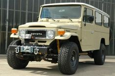 The Toyota Land Cruiser