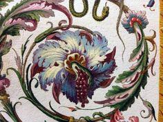 surface fragments: Raphael Loggia Ornament