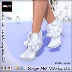 MOoH Nikita Boots Winter Second Life Freebie
