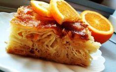 One of the masterpieces of Greek cuisine Greek Desserts, Greek Recipes, Portokalopita Recipe, Stevia, Cake Cookies, Lasagna, Cabbage, Dessert Recipes, Vegetables