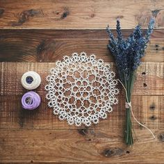 Another doily that I made from my favorite tatting book, Tatting Patterns and Designs, by Gun Blomqvist and Elwy Persson.