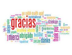 En todos los idiomas existe una palabra para manifestar agradecimiento:)