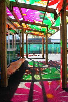 Canopy at Wareham St Mary's School, Dorset