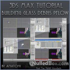 3ds Max Tutorial - Building Glass Debris Pflow