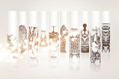 Packaging of the World: Creative Package Design Archive and Gallery: Medici Cosmetics Milano