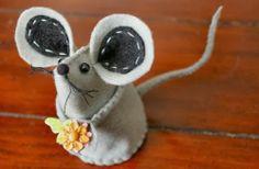 Fieltro ratón con Bouquet - PAP | Clubhouse Seam