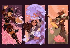 Azula/Katara/Suki Commission by Miguel Co : TheLastAirbender Avatar Airbender, Avatar Aang, Suki Avatar, Avatar Fan Art, Avatar Series, Azula, Legend Of Korra, Anime, Princesas Disney