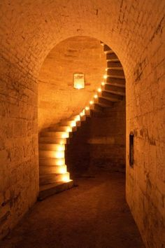 The Granite Staircase at Fort Camden, Cork Harbour. : The Granite Staircase at Fort Camden, Cork Harbour. Stairway To Heaven, Take The Stairs, Stair Steps, Grand Staircase, Staircase Design, Interior Exterior, Exterior Paint, Exterior Design, Stairways