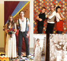 20 Great DIY Backdrops for weddings and parties