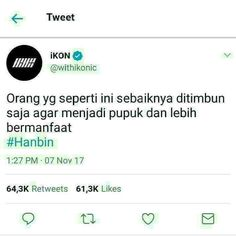 Read Jalan from the story Stray Kids Bobrok Vers. Twitter Quotes, Instagram Quotes, Tweet Quotes, Quotes Lucu, Jokes Quotes, Funny Quotes, Funny Chat, Drama Memes, Funny Kpop Memes