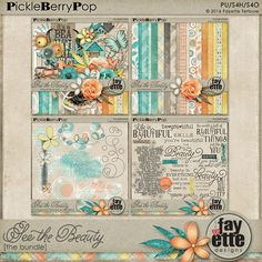 See the Beauty - The Bundle! By Fayette Designs