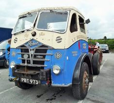 PBT973 FODEN UNIT. Vintage Trucks, Old Trucks, Old Lorries, Commercial Vehicle, All Cars, Classic Trucks, Buses, Cars And Motorcycles, Photographs