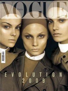 Vogue magazine covers - mylusciouslife.com - Vogue Italia January 2009.jpg