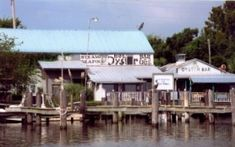 One of our favorite places- best food and waitress/friend Sherry -Boss Oyster - Apalachicola, FL