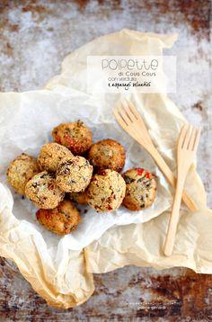 Polpette di Cous Cous al forno con verdure e Asparagi Selvatici | PANEDOLCEALCIOCCOLATO