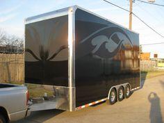 Matte Black trailer, Dallas, TX
