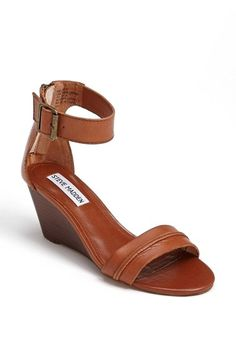 4837cb6f8 Steve Madden  Neliee  Sandal available at  Nordstrom Tan Wedge Sandals