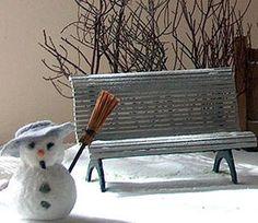 how to: garden bench