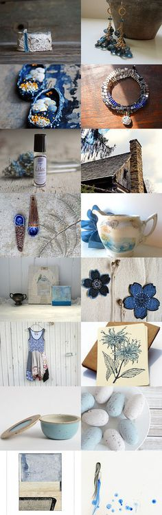 Blue Sky by Laureen on Etsy--Pinned with TreasuryPin.com