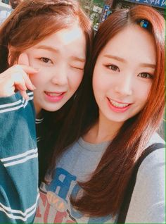 Minjae Twitter Update with OMG's Seunghee