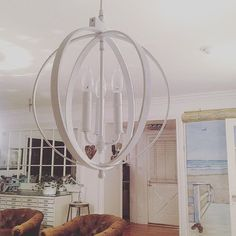 Pendant Light in #White #Wood #Orb Taking these out to the #RoseBowlFleaMarket tomorrow Space W5 casualcharm@aol.com #rgcanningattractions