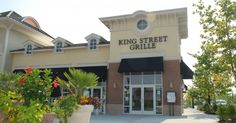 King Street Grill at Market Commons in Myrtle Beach - great food! Ben Rothelsberger is part owner of this wonderful place....